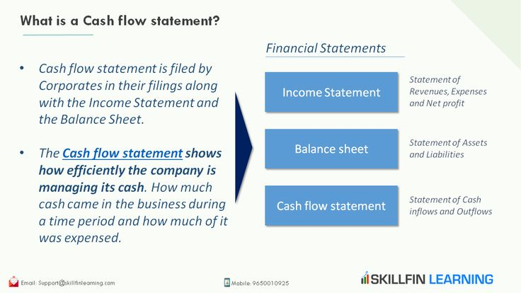 what is a cash flow statement in 2020 income goes on profit and loss