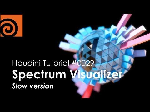 Learn how to create an audio spectrum visualizer in Side