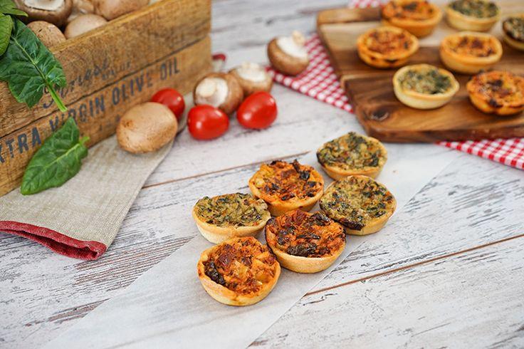 Piccolinis / Mini Pizza / Nachgemacht: Original trifft Sally – Sallys Blog