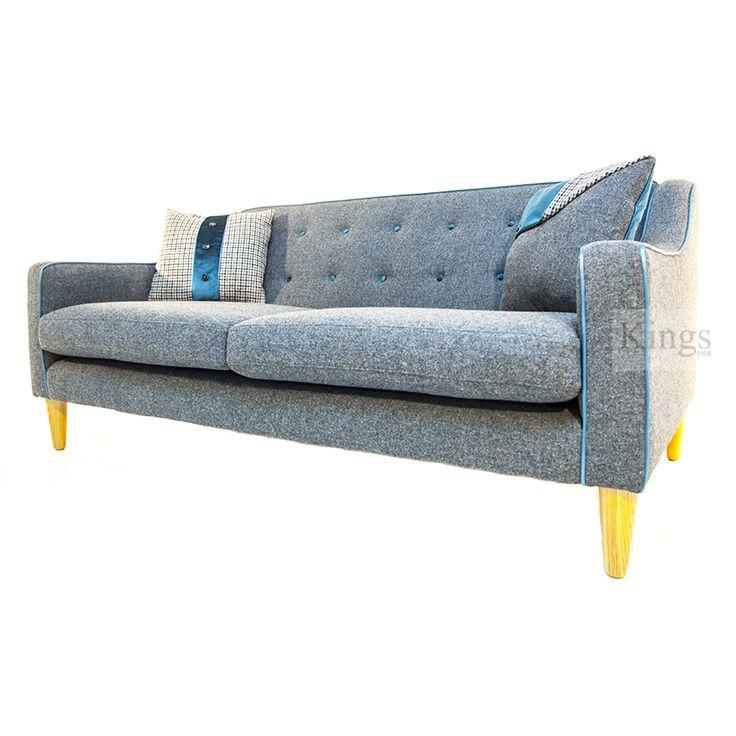 Tetrad Harris Tweed Draper new contemporary sofa. www.kingsinteriors.co.uk/brands/tetrad-harris-tweed