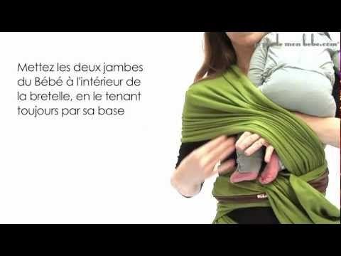 La Petite Echarpe Sans Noeud - JPMBB : position avec nouveau-né - YouTube