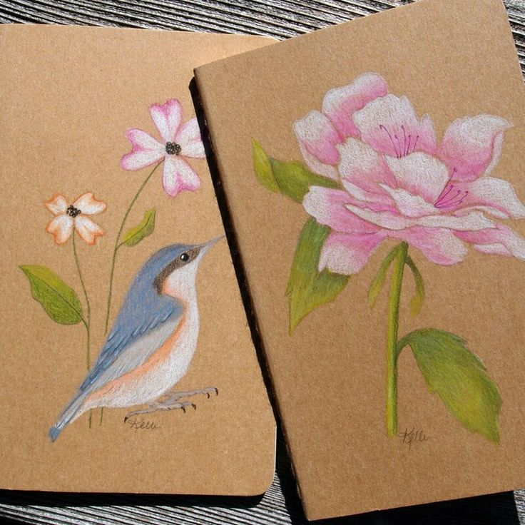 New in stock! Hand painted journals, perfectly sized to take on all your adventures.