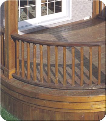 Curved Wood Railing| Fence-All