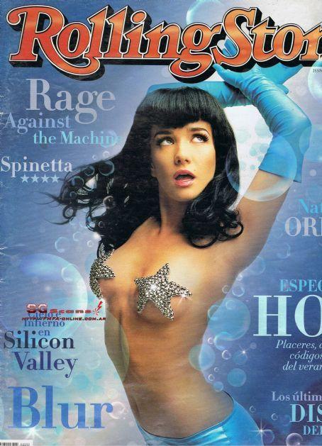 Natalia Oreiro - Rolling Stone Magazine Cover [Argentina] (January 2000)