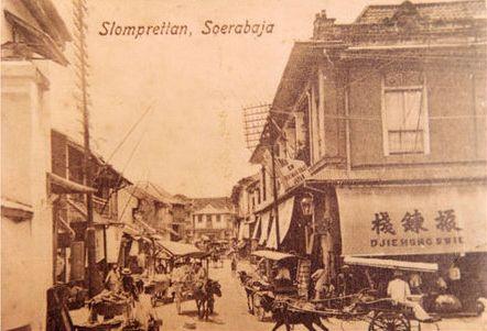 Kawasan Jalan Slompretan 1890