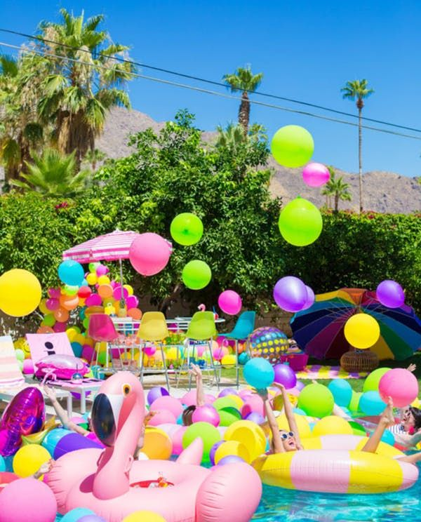 30th Birthday Pool Party Ideas That Will Make A Splash Pool Birthday Pool Party Adults Pool Party Themes