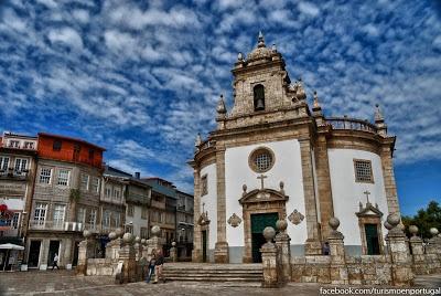 Barcelos, Igreja do Bom Jesus da Cruz.