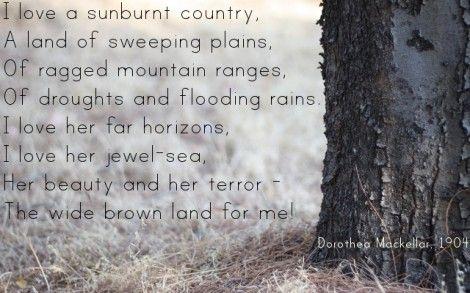 My favorite Australian poem.