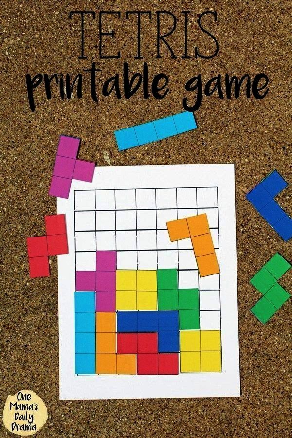 This is a picture of Pentominoes Printable inside pentominoes early elementary