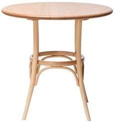 Bordet 152 från Ton är ett av få bord där bordsunderredet är tillverkat med böjträteknik. Sen är bordsskivan av trä och bordet kan väljas i flera olika färger. #cafebprd #restaurangbord #matbord #ton #dialoginterior