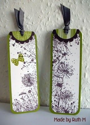 Flower Sparkle: Dandelion Bookmarks