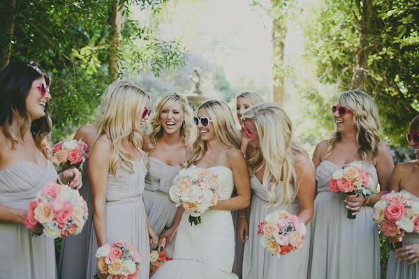 Camarillo Botanical Wedding~love the details & the heart shaped sunglasses pic w/ bridesmaids.