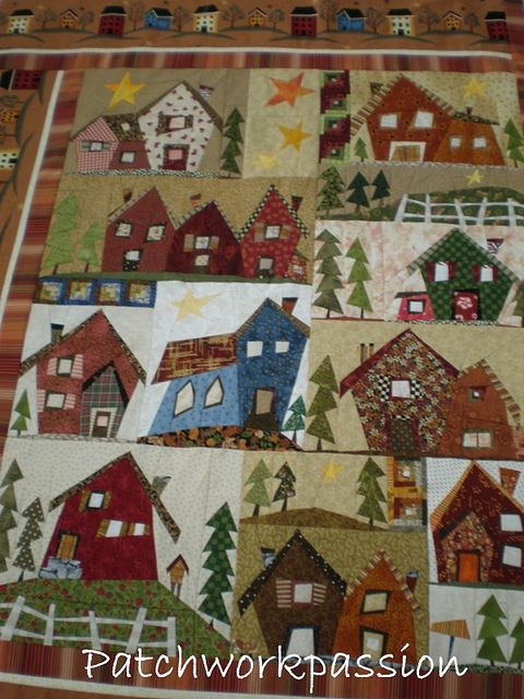 love house quilt:)