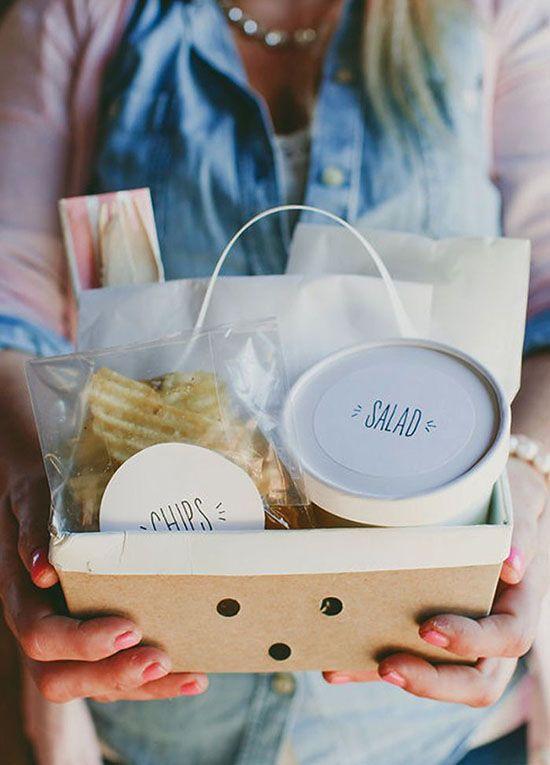 Cute picnic packaging