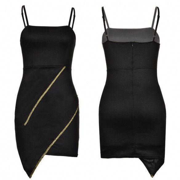 New Stylish Lady Womens Fashion Strap Sleeveless Sexy Slim Dress
