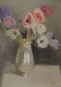 Helene Schjerfbeck, 'Anemoneja', 1909.