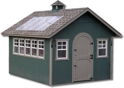 """Potting/Garden Storage Shed. I think I could really """"farm"""" this up!"""