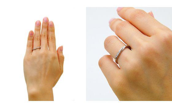 Wave - ウェイヴ-| マリッジリング | 結婚指輪・婚約指輪のオーダーメイド通販ならケイウノ