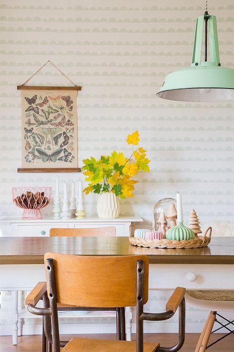 herbstliches Esszimmer in 2018 Home Livingroom Pinterest Home
