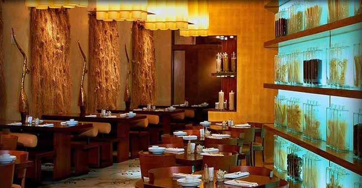 Asian restaurant interior design of noodles las vegas for Interior design las vegas