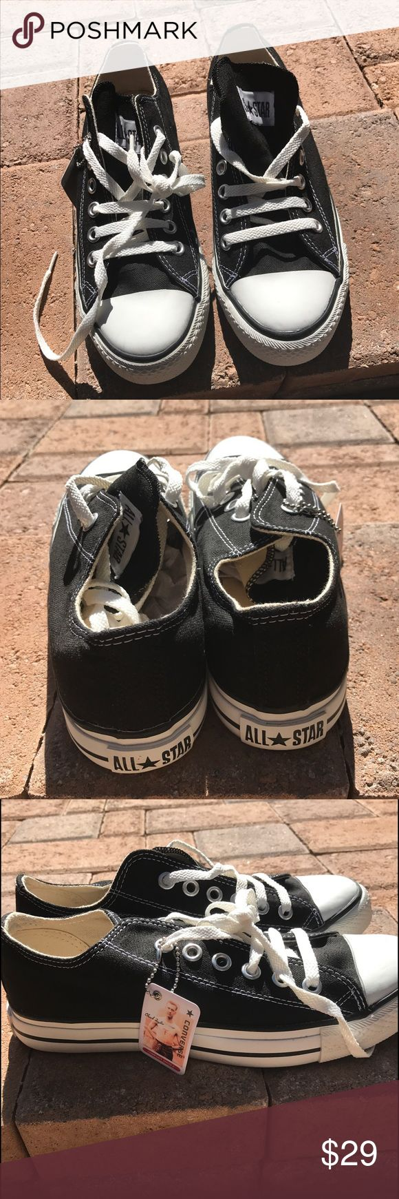 Converse All Star Oxford Black Chuck Taylor Authentic Converse All Star Oxford Chuck Taylor Black Women's US 10, BRAND NEW NO BOX. Price Firm, No offers Converse Shoes