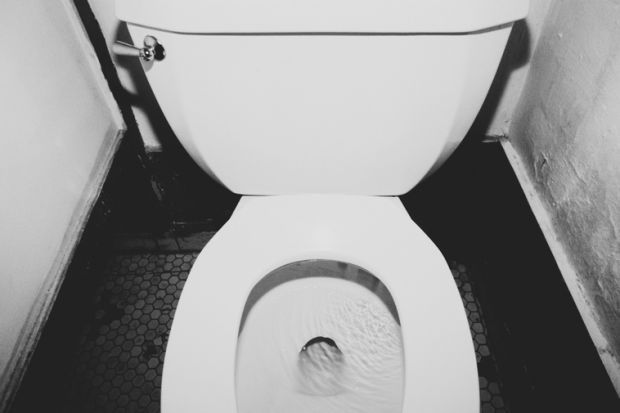 Toilet seat up or down? Here