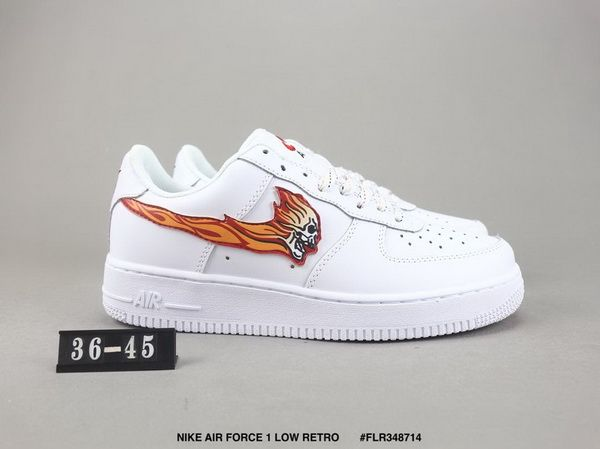 inspired by Ghost Rider, that's cool. | Nike air force