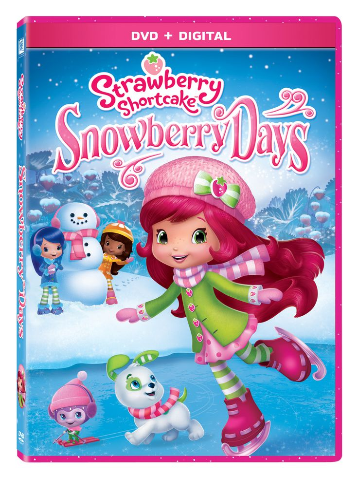 Strawberry Shortcake Snowberry Days DVD #snowberrydays