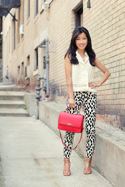 "I'm more of a ""classics"" girl-not usually one for the crazy pants on trend right now, but I would so wear this."