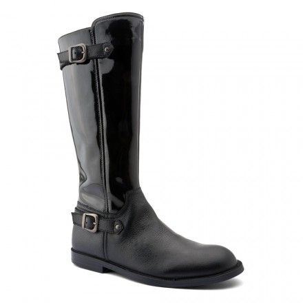 Cavaletti, Black Patent Girls Zip-up Boots - Girls Boots - Girls Shoes http://www.startriteshoes.com/girls-shoes/boots/cavaletti-black-patent-girls-zip-boots
