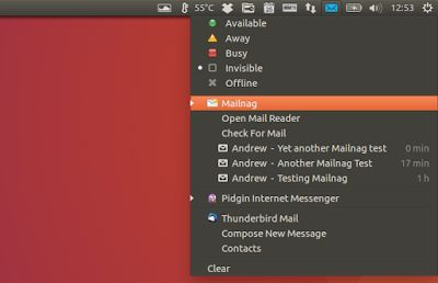 Mailnag Email Notifier 1.2 Released With New IMAP Folder Chooser New Popup Menu Layout For GNOME Shell More  Linux Google Development Design Web Upd8 - Ubuntu / Linux blog