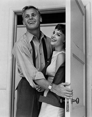 Tab Hunter with Natalie Wood for The Girl He Left Behind