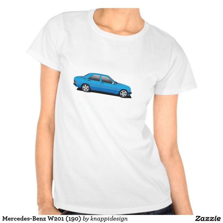 Mercedes-Benz W201 (190) Tee Shirt #mercedes-benz #w201 #190E #mercedes #tshirt #tpaita #troja #car #auto #bil