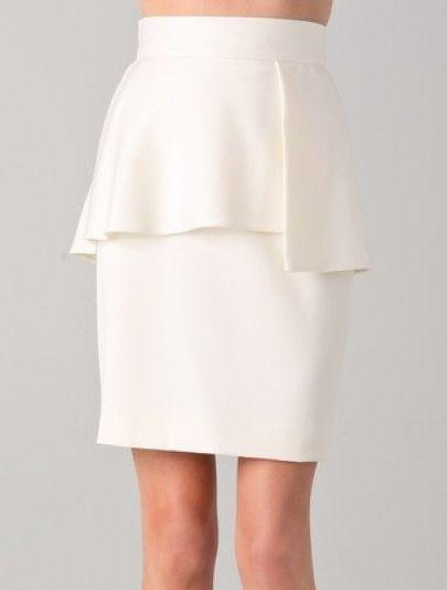 dressy shirt with high waist ruffles - Google Search