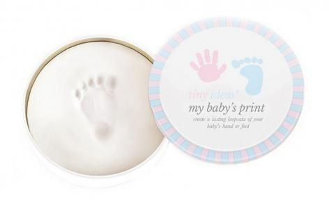 Tiny Ideas Handprint Keepsake by Pearhead