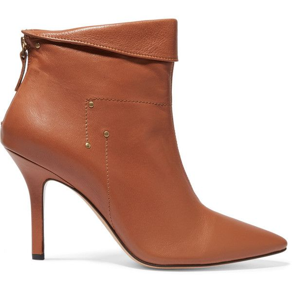 1000  ideas about Brown Leather Ankle Boots on Pinterest | Leather ...