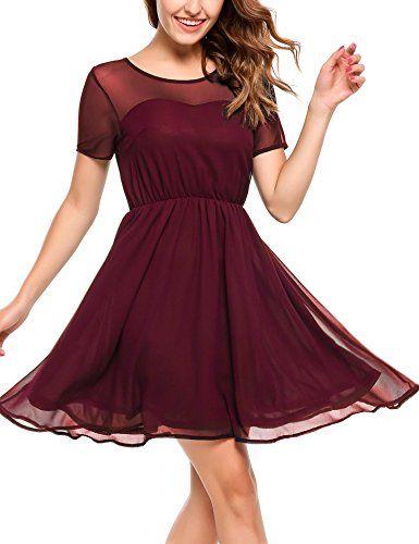 Kleid a linie knielang festlich