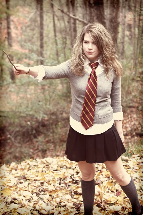Hermione Halloween costume was perfect for school as a teacher: