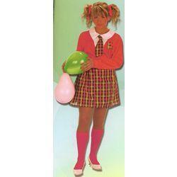 Disfraz de Colegiala con Calcetines (para Mujer)