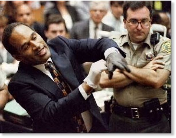 O.J. Simpson's Legal Team Denies Glove Tampering Claims on http://www.shockya.com/news