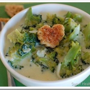 Brainy Broccoli Soup You can always make this dairy free, plain almond milk would be a good sub as well as using the vegan butter or your fav butter substitute