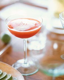 Barry Dixon's Toast, Blood Orange Champagne Cocktail