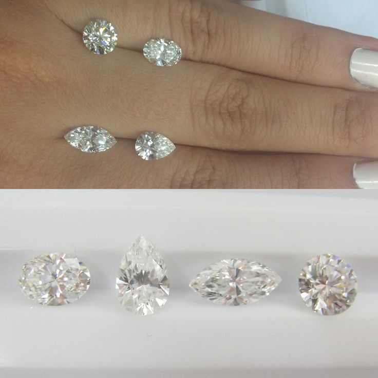 Small selection of diamonds with curves, what would your selection be? Round, Marquise, Pear or Oval