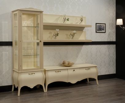 Casa Ampia-Unit Venetto patina- έπιπλο tv - καθιστικό-διακόσμηση σαλονιού-ξύλο Οξιά