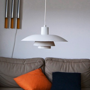 PH 4/3 Pendant Lamp White, £382, now featured on Fab.