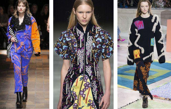 """Carlin Creative Trend Bureau :""""Les 6 choses que vous devez savoir """"- New York + London Fashion Weeks - AH 2017 - Tendances (#800971)"""