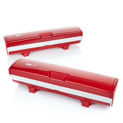 Shop Wrap Master Set of 2 Foil and Plastic Wrap Dispensers 7808584, read customer reviews and more at HSN.com.