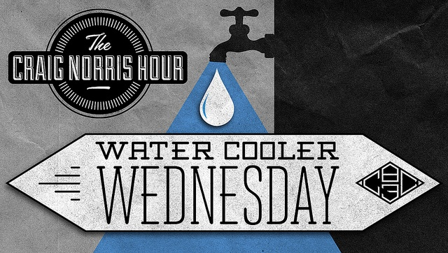 Graphic for The Craig Norris Hour's Water Cooler Wednesday on CBC Radio 3.