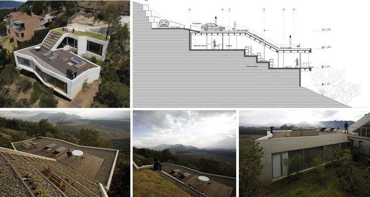 Casas en terrenos inclinados