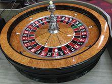 """Los Juegos de Casino de lujo de madera maciza Estándar 32 """"rueda de la ruleta"""